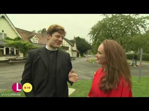 James Norton about his mother's reaction to Grantchester