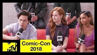 'Riverdale' Cast on Season 3, Character Deaths & More!   Comic-Con 2018   MTV