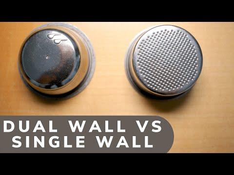 Delonghi EC680 single vs double basket