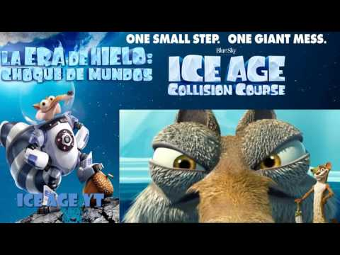 SCRATASIA : SCRAT'S SOLO ADVENTURES - ICE AGE COLLISION COURSE | BEST MOMENTS OF SCRAT | FUNNY