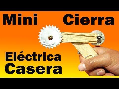 sierra casera - hola amigos, en este video aprenderemos a construir una sierra eléctrica casera. ESQUEMA ELÉCTRICO: http://adf.ly/pLvPw Suscribete https://www.youtube.com/us...