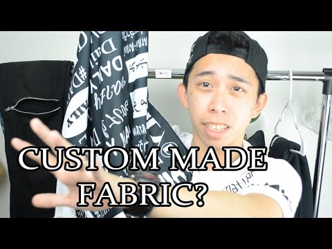 CUSTOM MADE FABRIC? | Spoonflower review