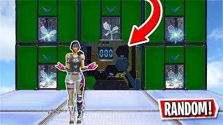 This Deathrun RANDOMLY picks the level you play! (Fortnite Creative)