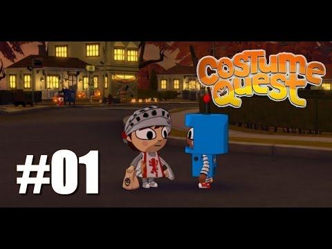 Costume Quest #01: Découverte du jeu [Redif Live]