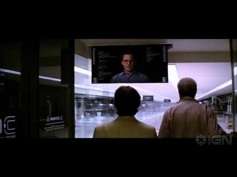 """Transcendence - """"Can You Prove You're Self Aware?"""" Clip"""