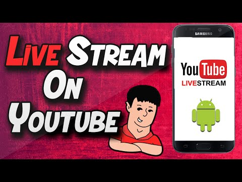 How to Live Stream on YouTube on your Phone for Android