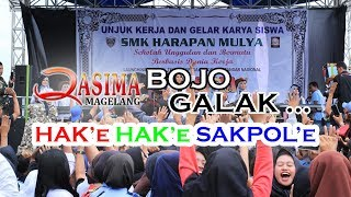 Video BOJO GALAK FULL HAK E HAK E - Maya Qasima LIVE SMK Harapan Mulya Kendal MP3, 3GP, MP4, WEBM, AVI, FLV Agustus 2018