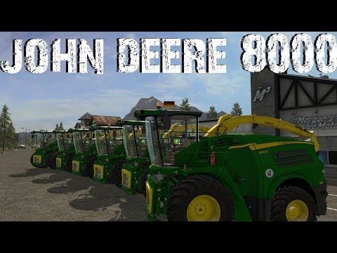 John Deere 8000 Series Final Beast Pack v4.0