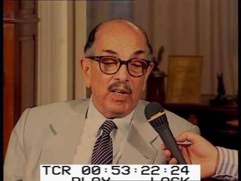 لقاء مع د  أحمد هيكل وزير الثقافة السابق ج 1