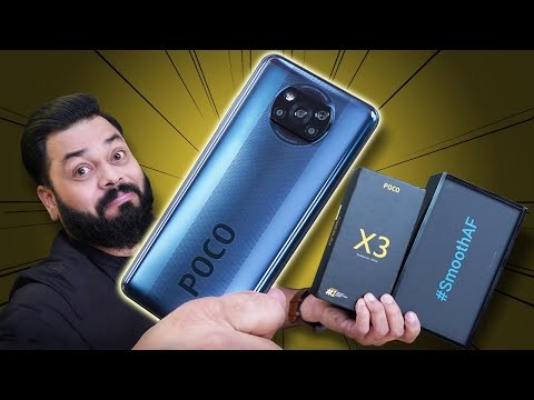 POCO X3 Unboxing & First Impressions ⚡⚡⚡ Not A Rebranded One