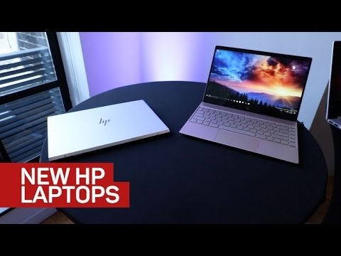HP's sleeker and more sensible laptops for summer 2017