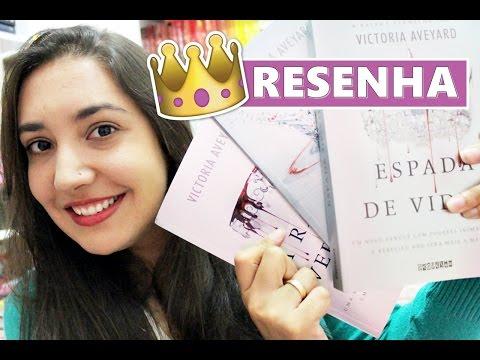 ESPADA DE VIDRO + RESULTADO DO SORTEIO | Amiga da Leitora