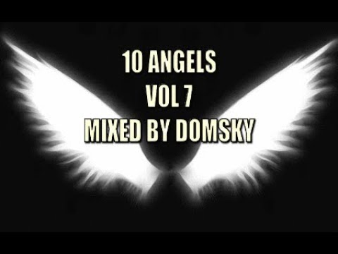 VOCAL TRANCE   10 ANGELS VOL 7  MIXED BY DOMSKY