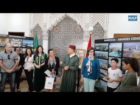 العرب اليوم - شاهد:تلاميذ من برازيليا يستكشفون جوانب من تاريخ وثقافة المغرب