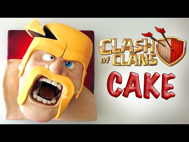 Clash of clans cake ann reardon how to coo mp fordfiesta
