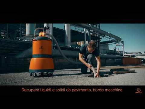 PENTA - Aspiratore industriale utilizzi