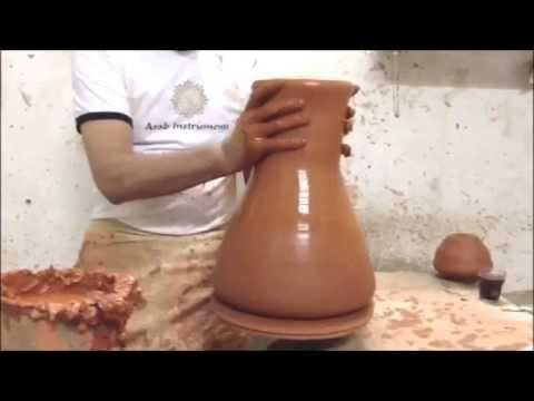 darbuka - On this movie we share with you some of our building secrets when we make darbuka. You can see how do we build our professional ceramic darbuka and the sound...
