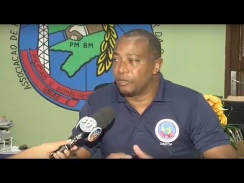Presidente  da APPMBA, SGT PM Roque Santos fala sobre o desrespeito com os agentes de segurança  do Estado