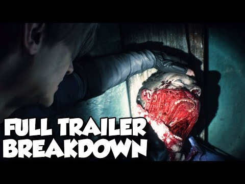 Resident Evil 2 Remake Full Trailer Breakdown Review