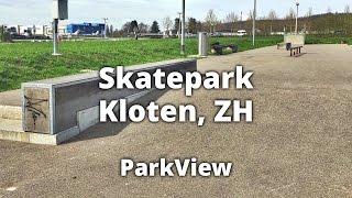Der Skatepark Kloten befindet sich bei der Piste 28 vom Flughafen Zürlich/Kloten. #SpotCheck #SkateparkKloten #ParkView...