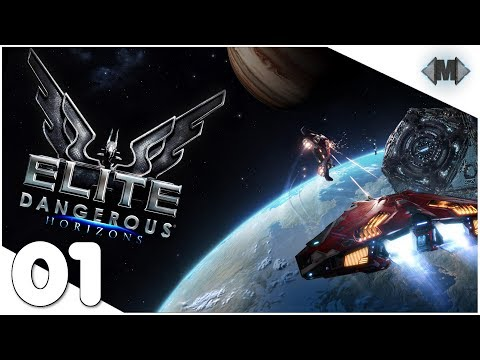 Elite Dangerous [Horizons] ❅ #01 Der Einstieg In Das Spiel ❅ [Deutsch German Gameplay]