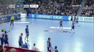 One of the funniest goals ever scored in Handball