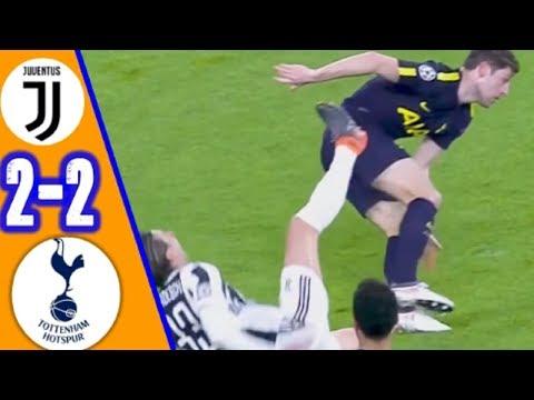 Juventus vs Tottenham 2 2   All Goals & Extended Highlights   UCL 13-02-2018 HD