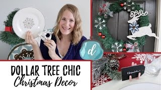 Dollar Tree Christmas DIYS that look EXPENSIVE!