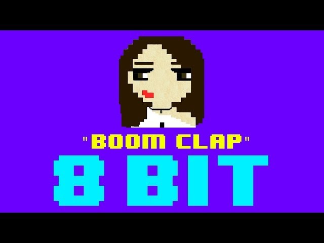 Boom clap 8 bit remix cover version tribute to charli xcx from the