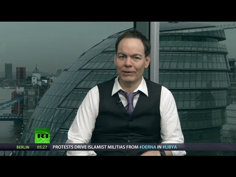Report - In this episode of the Keiser Report, Max Keiser and Stacy Herbert discuss the need for powers to stop the aggressive banker bego-crats constantly shaking do...