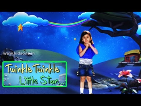 Twinkle Twinkle Little Star | Popular English Rhymes For Kids