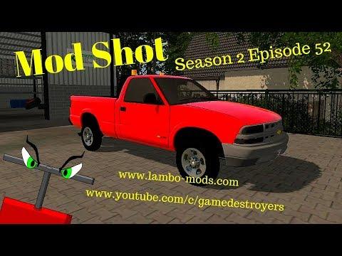 Chevy S10 Pickup Truck v1.0