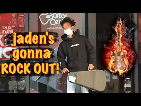 Jaden Smith Wants To Be A ROCK STAR!