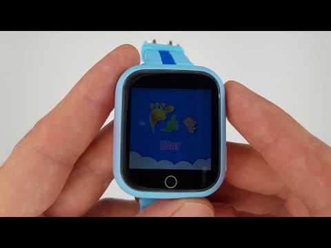 Smart Baby Watch Q90 (Q750) – Детские Умные часы с GPS Розовые