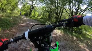2. 2019 KX100 2 Stroke - 1st ride