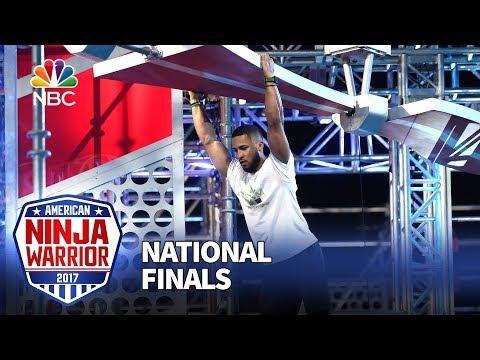 JJ Woods at the Las Vegas National Finals: Stage 2 - American Ninja Warrior 2017
