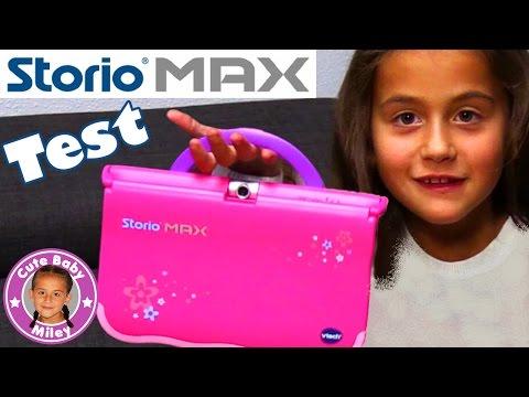 STORIO MAX LERNTABLET Test & Vorstellung   Spiel und Spaß in einem   CuteBabyMiley