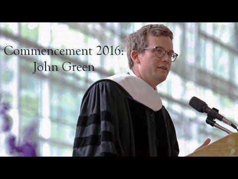 Proslov Johna Greena na Kenyon College