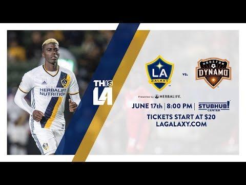 Video: TEASER: LA Galaxy vs. Houston Dynamo | June 17th, 2017