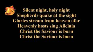 Silent Night Lyrics (Lyrics On Screen)