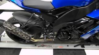 10. 2008 Kawasaki ZX-10R Ninja Blue - used motorcycle for sale - Eden Prairie, MN