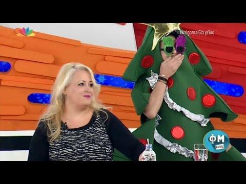 ΦΜ Live - 8.12.2015  -  Παρθένα Χοροζίδου!