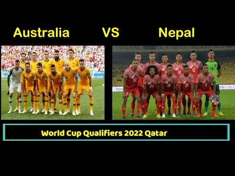 Nepal VS Australia World Cup Qualifiers 2022