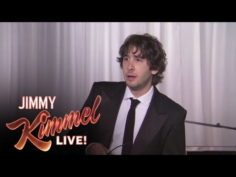 tweets - Jimmy Kimmel Live - Josh Groban Sings Kanye West Tweets.