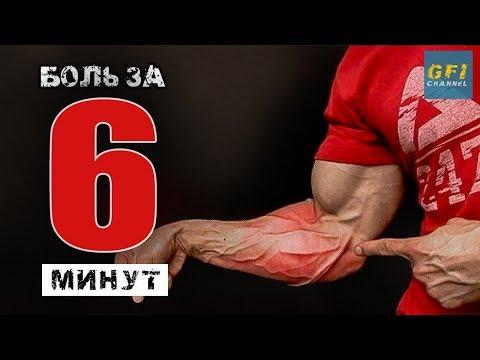 Предплечья ДО БОЛИ за 6 минут (Джефф Кавальер) - DomaVideo.Ru