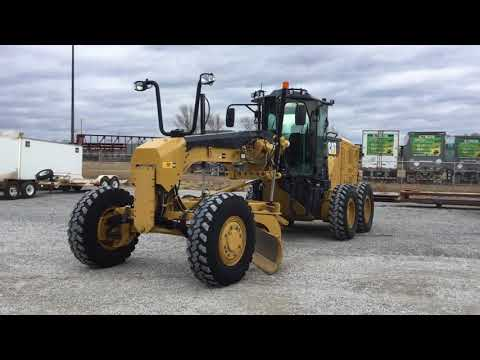 CATERPILLAR RÓWNIARKI SAMOBIEŻNE 12M2AWD equipment video 0AzbtU6-RhE