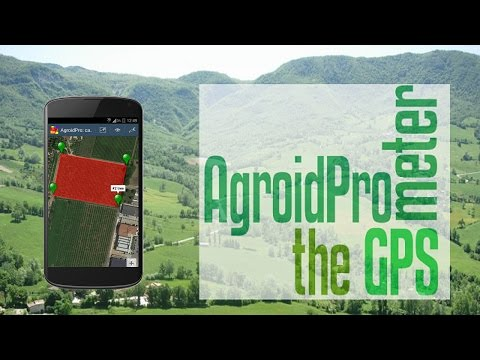 Video of AgroidPro GPS Area Measure