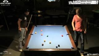 Twenty Nine 9-Ball Open 2012, 10 Georg-Hybler, Final, Pool-Billard