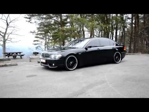 2003 745 bmw li ACS kit H&R lowered 22