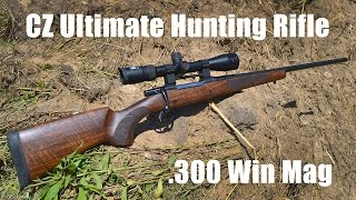 Check out the full review for CZ's Ultimate Hunting Rifle in .300 Winchester Magnum on Guns.com - http://www.guns.com/review/gun-review-cz-ultimate-hunting-rifle-in-300-win-mag-video/